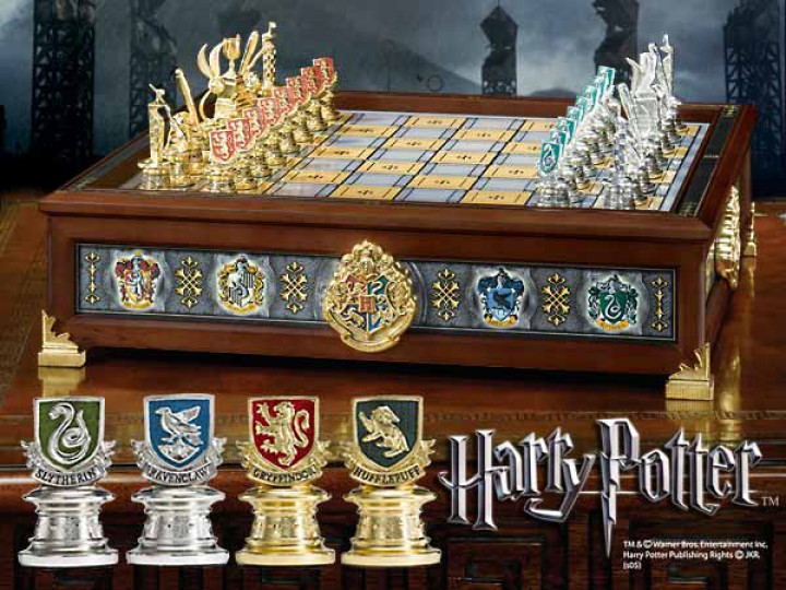 harry potter die h user hogwarts quidditch schachspiel harry potter diverses shop harry. Black Bedroom Furniture Sets. Home Design Ideas