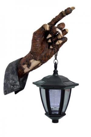 Solar Wandlampe Totenhand