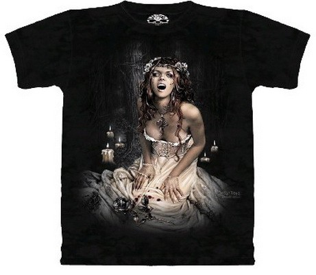 "T-shirt ""Black Rose"""
