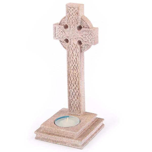 Keltisches Kreuz Teelichthalter 2