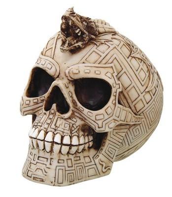 *Keltischer Schädel mit Drachen