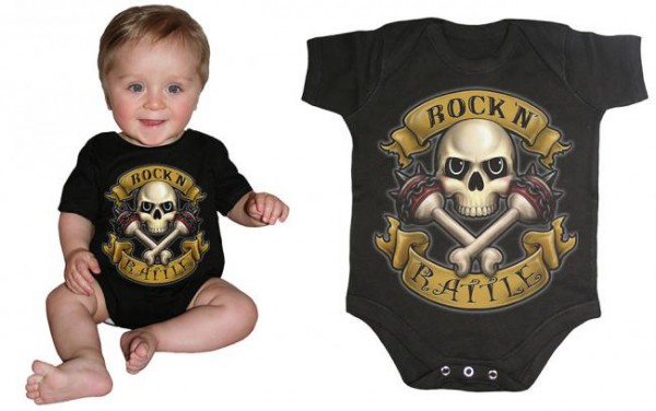 Rock N Rattle Babystrampler