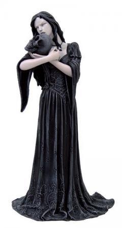 Vampirlady Draculina mit Schädel