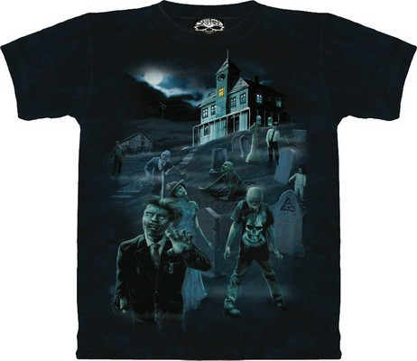 "T-shirt ""Zombies & Ghosts"""
