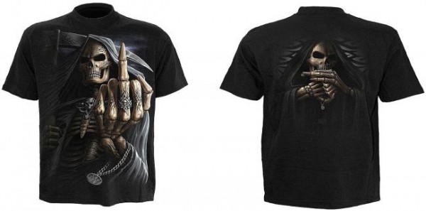 Bone Finger T-Shirt