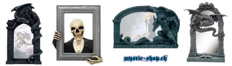 Bilderrahmen und Spiegel