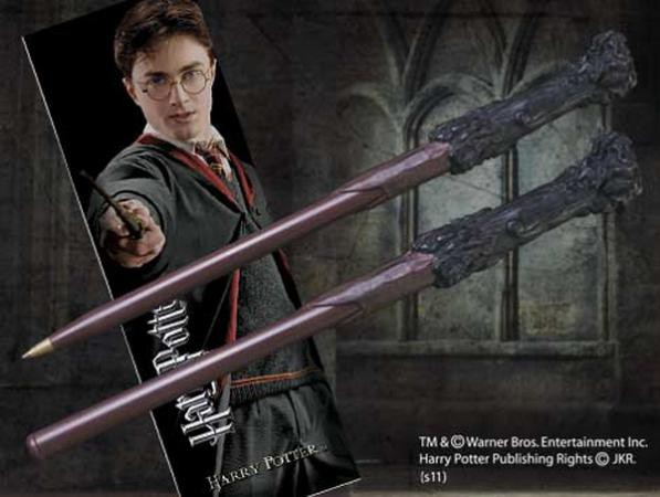 Harry Potter Kugelschreiber & Lesezeichen Harry Potter