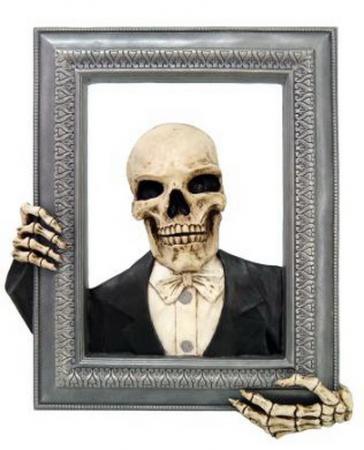 Bilderrahmen Gentleman-Skelett