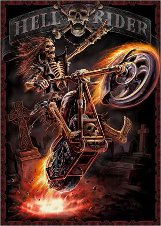 Hell Rider Poster