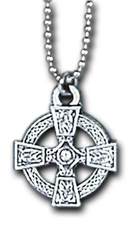 Anhänger mit Kugelkette Keltisches Kreuz