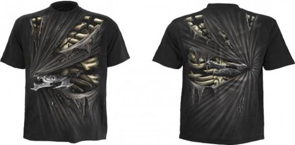 Bone Slasher T-Shirt Rundumdruck