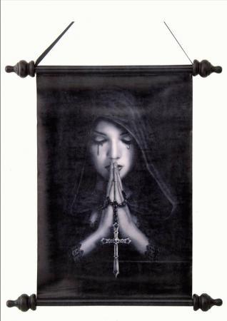 Schriftrolle Dark Fairy betend