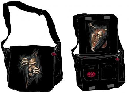 """Death Rip"" Red Range Kuriertasche"