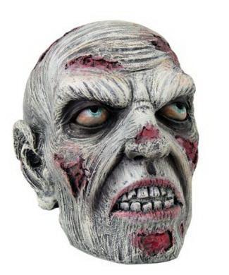 Zombieschädel bunt