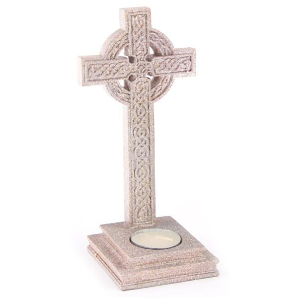 Keltisches Kreuz Teelichthalter 1