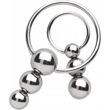 Steel Basicline® Tri-Ball Pendulum