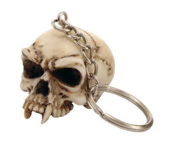 Schlüsselanhänger Totenkopf 6