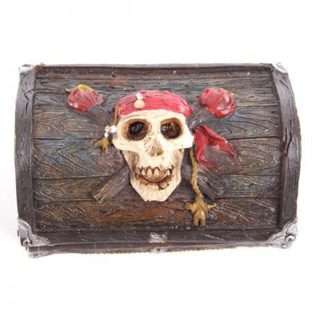Piratentotenkopf Schatztruhe