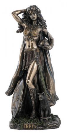Freya, nordische Göttin der Liebe