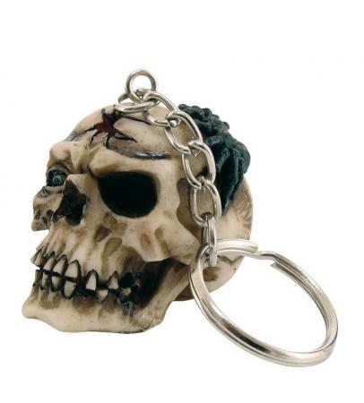 Schlüsselanhänger Totenkopf 4