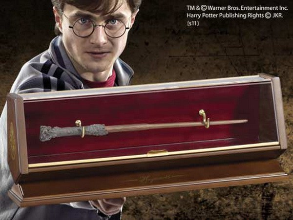 Bronze Zauberstab Harry Potter