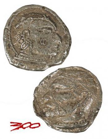 Frank Millers 300 Goldmünzen Replika 2er Set
