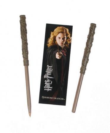 Harry Potter Kugelschreiber & Lesezeichen Hermione