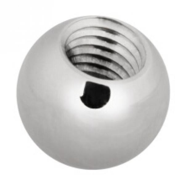 Steel Basicline® Threaded Ball 1,6mm