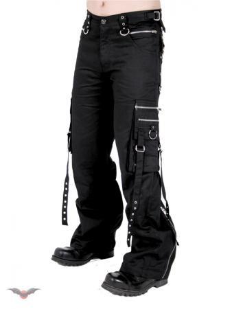 Bondagehose mit seitlichen Taschen Grösse 30
