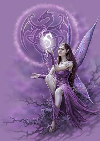 Celtic Fairy Poster