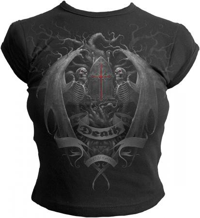Tree Of Death Girlie Shirt