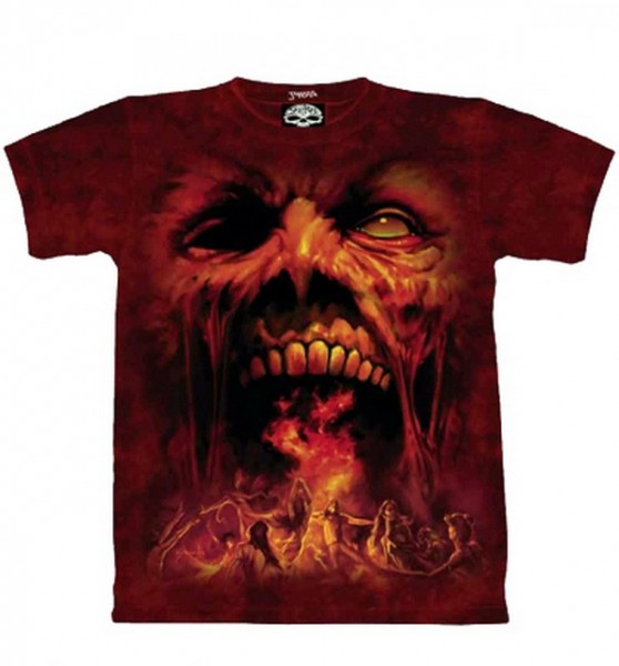 "T-shirt ""Dark Wave"" M"