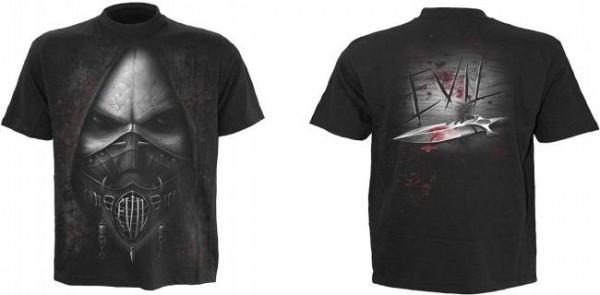 Evil T-Shirt, schwarz