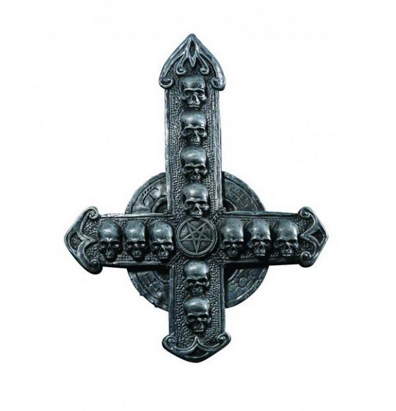 Petruskreuz mit Schädeln