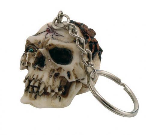 Schlüsselanhänger Totenkopf 3