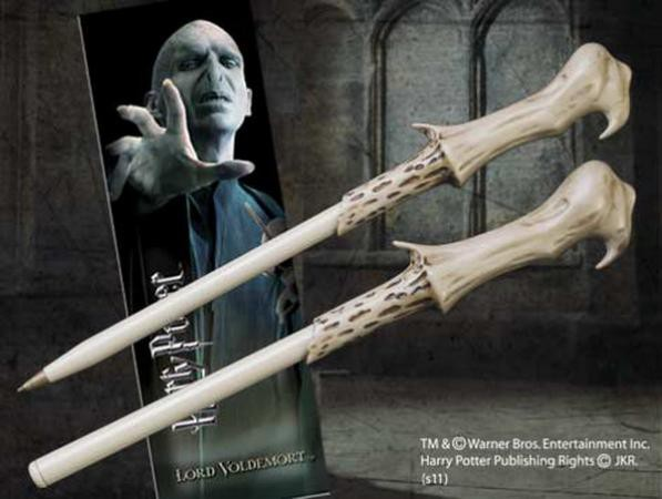 Harry Potter Kugelschreiber & Lesezeichen Lord Voldemort