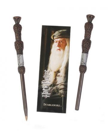 Harry Potter Kugelschreiber & Lesezeichen Dumbledore